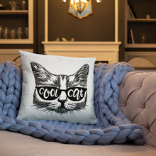 Load image into Gallery viewer, Cool Cat Pillow