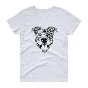 PITBULL / AM. STAFF / BULLY BREED MANDALA T-Shirt