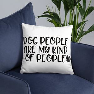 Dog People Pillow
