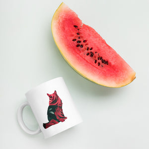 Fluffy Rose Cat Mug - Kai's Ruff Wear