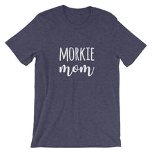 Load image into Gallery viewer, Morkie Mom Short-Sleeve Unisex T-Shirt