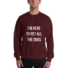 Load image into Gallery viewer, Here to Pet All the Dogs Sweatshirt - Kai's Ruff Wear