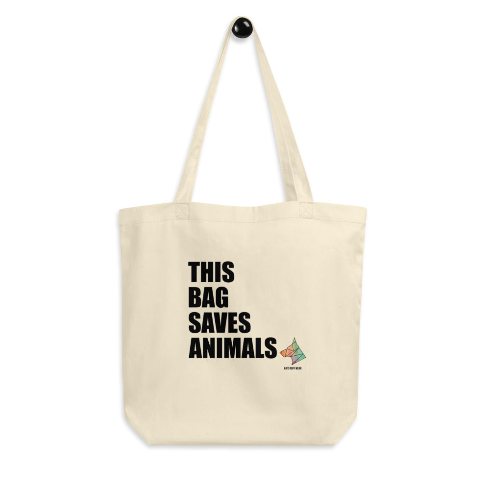 Bag Saves Animals Tote