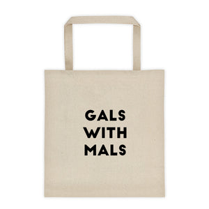 Gals with Mals Tote bag - Kai's Ruff Wear