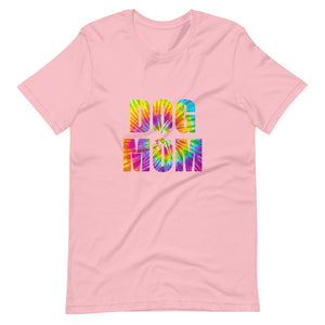 Dog Mom Tie-Dyed T-Shirt