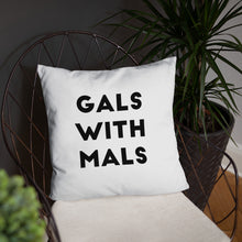 Load image into Gallery viewer, Gals with Mals Pillow - Kai's Ruff Wear