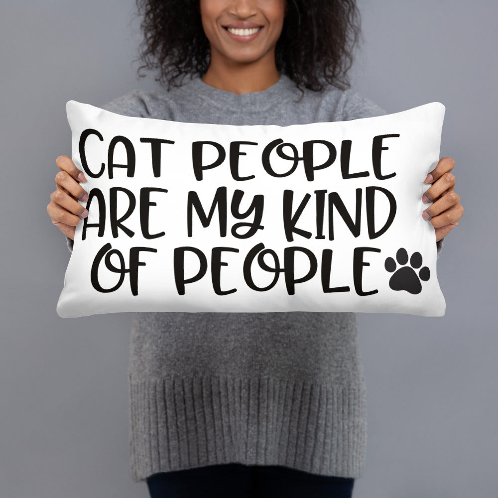 Cat People Pillow