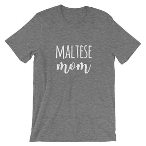 Maltese Mom Short-Sleeve Unisex T-Shirt