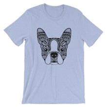 Load image into Gallery viewer, Boston Terrier Mandala T-Shirt