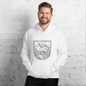 Camp with Dogs Hoodie