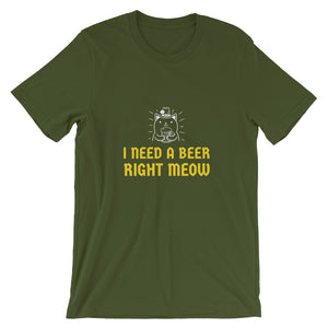 Beer Meow T-Shirt