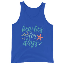 Load image into Gallery viewer, Beaches for Days Tank Top