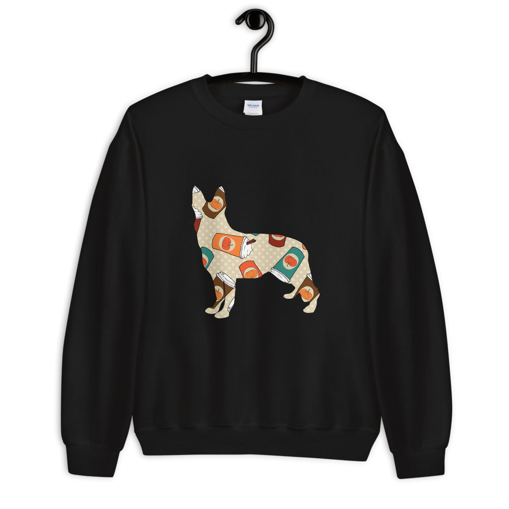 German Shepherd Autumn Sweatshirt