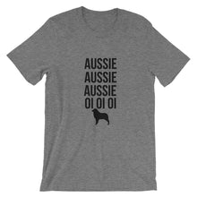 Load image into Gallery viewer, Aussie Aussie Aussie Oi Oi Oi Short-Sleeve Unisex T-Shirt - Kai's Ruff Wear
