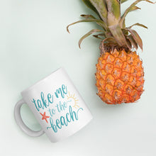 Load image into Gallery viewer, Take Me to the Beach Mug