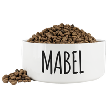 Load image into Gallery viewer, Custom Dog Bowl for Mabel