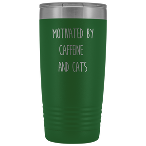 Cats and Caffeine Tumbler