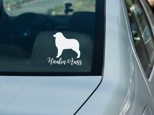 Haulin Auss Car Decal