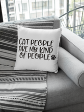 Load image into Gallery viewer, Cat People Pillow