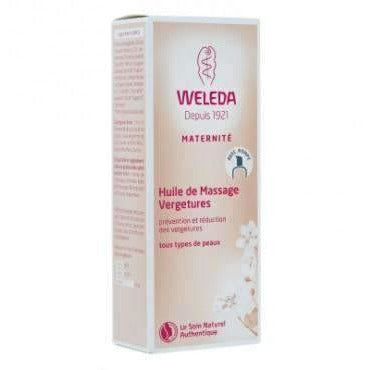 Weleda Huile de Massage Vergetures bio 100ml-Flacon Pompe