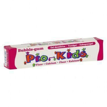 Pro - kids GEL DENTIFRICE ENFANT GOÛT BUBBLE GUM TUBE 50ML