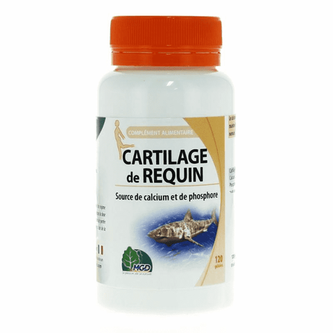 Cartilage de requin - 120 gélules - MGD