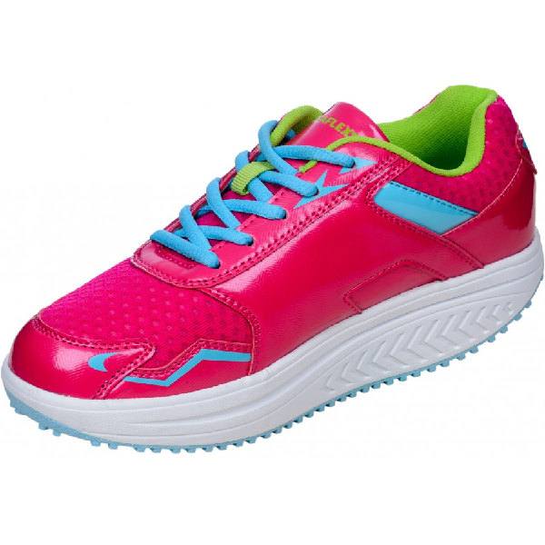 DFRAINAFLEX BASKET BALANCING SHOES - SEMELLE MARCHE ACTIVE - FUSHIA FLASHY