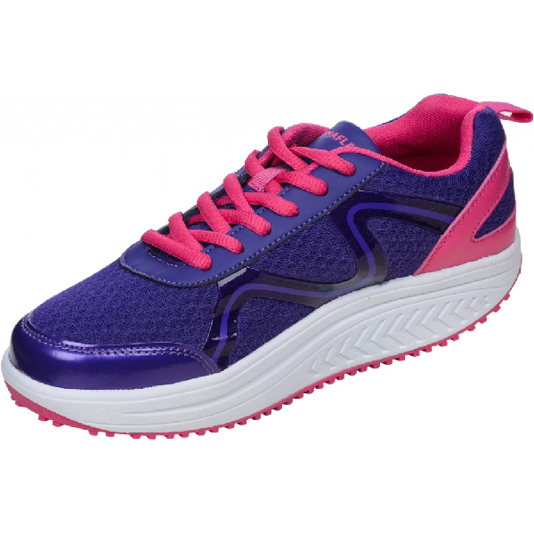 DFRAINAFLEX BASKET BALANCING SHOES - SEMELLE MARCHE ACTIVE - MAUVE FLASHY