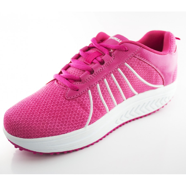 DFRAINAFLEX BASKET BALANCING SHOES - SEMELLE MARCHE ACTIVE - ROSE FLASHY