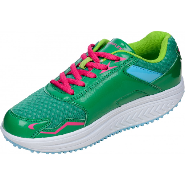 DFRAINAFLEX BASKET BALANCING SHOES - SEMELLE MARCHE ACTIVE - VERT FALSHY