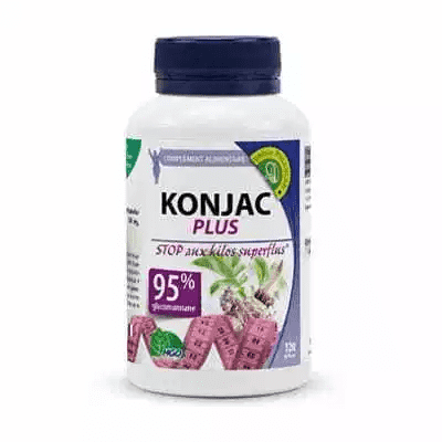 KONJAC Plus 530 mg - 120 gélules - MGD