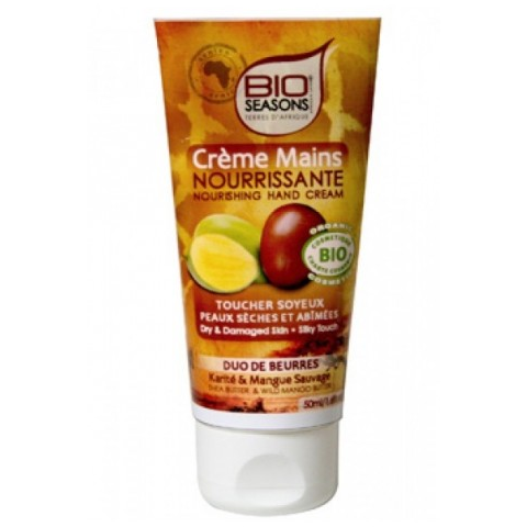 BIO SEASON CREME MAINS NOURISSANTE 50ML