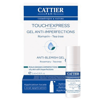 Touch'Express - Peaux grasses à imperfections - 5 ml - Cattier