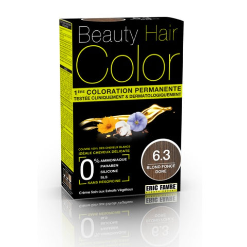 BEAUTY HAIR COLOR BLOND FONCÉ DORÉ 6.3 - 160ML