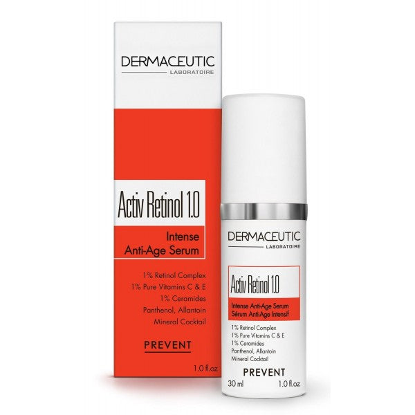 DERMACEUTIC ACTIV RETINOL 1.0 - SERUM ANTI-ÂGE INTENSIF - FLACON AIRLESS 30M