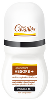 ROGE CAVAILLES ANTI-TRACES DÉO ABSORB+ INVISIBLE 48H ROLL-ON 50ML, Déodorants, ROGE CAVAILLES, Parapharmacie en Ligne - Parapharmacie en ligne