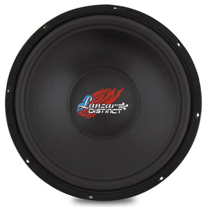 15'' -In. Free Air DVC Car Subwoofer DCTOA15D