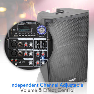 Bluetooth Studio PA Speaker System PADH15BTA