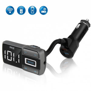 Bluetooth Car Adapter with Quick Charge PBT99