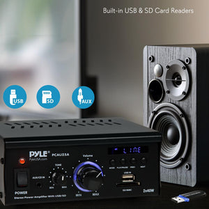 Stereo Power Amplifier System PCAU25A