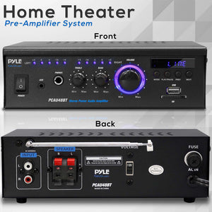 Wireless BT Stereo Power Amplifier PCAU48BT