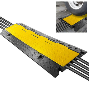 Cable Cover Ramp Safety Track, 4-Ch. PCBLCO106