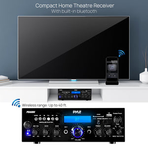 Bluetooth Home Stereo Amplifier Receiver PDA6BU