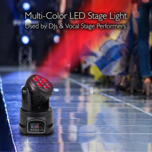 Multi-Color DJ LED Stage Light System PDJLT50
