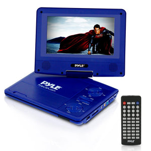 7'' Portable CD/DVD Player (Blue) PDV71BL