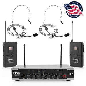 Bluetooth Wireless PA Microphone System PDWM2122