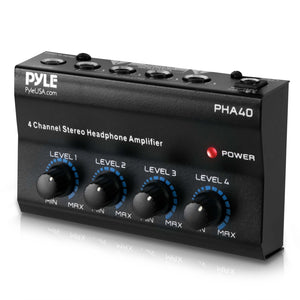 4-Ch. Stereo Headphone Amplifier PHA40