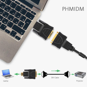 HDMI Male to DVI Male Adapter PHMIDM