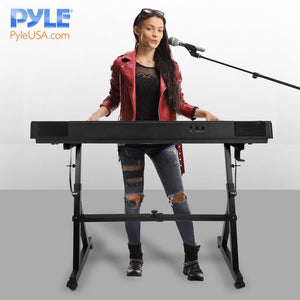 Keyboard Stand with Wheels PKST48