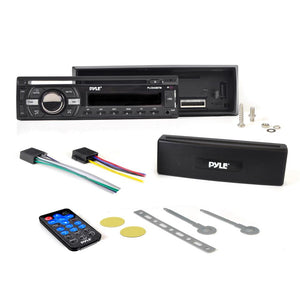 Marine Bluetooth CD/MP3 Radio Receiver PLCD43BTM